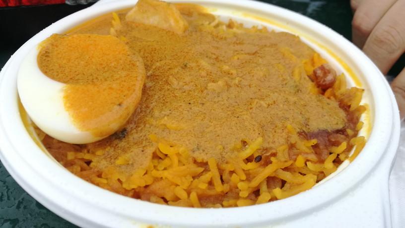 インドの炊き込みごはん「ビリヤニ」