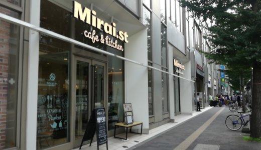 初音ミク目当てでミライストカフェ&キッチンに行く。想像以上に居心地が良い